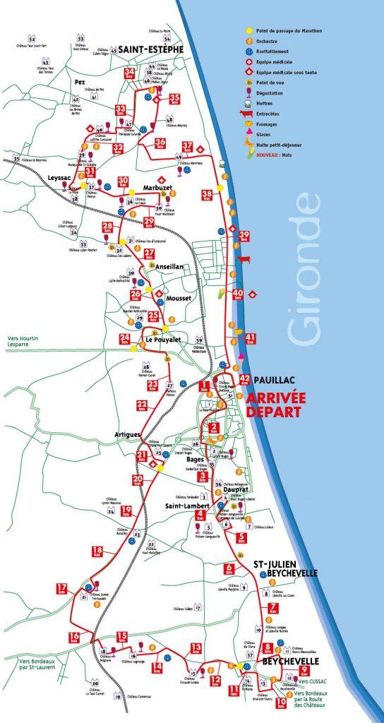 Map of 2016 marathon.
